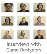 Watch interviews with game designers
